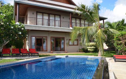 Location villa thailande avec personnel